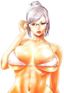 Rating: Questionable Score: 45 Tags: bikini_top hiramoto_akira megane prison_school shiraki_meiko User: Radioactive