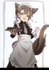 Rating: Safe Score: 16 Tags: animal_ears maid nagishiro_mito nekomimi sketch tail User: kiyoe