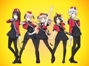 Rating: Safe Score: 16 Tags: animal_ears luminous_witches pantyhose shimada_humikane tail uniform User: saemonnokami
