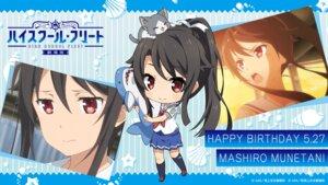 Rating: Safe Score: 9 Tags: chibi high_school_fleet munetani_mashiro neko seifuku tagme wallpaper User: saemonnokami