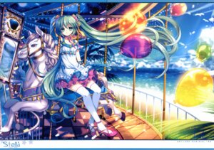 Rating: Safe Score: 32 Tags: capura.l eternal_phantasia gap hatsune_miku thighhighs vocaloid User: blooregardo