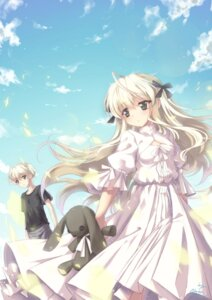Rating: Safe Score: 47 Tags: abyss_of_parliament dress kasugano_haruka kasugano_sora yosuga_no_sora User: blooregardo