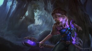 Rating: Safe Score: 55 Tags: league_of_legends luc_pinkey luxanna_crownguard signed wallpaper weapon User: nphuongsun93