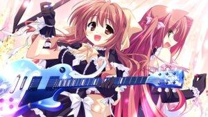 Rating: Safe Score: 12 Tags: dress game_cg guitar hinata_mutsuki matsuoka_kanade natsume_otona skyfish yotsuiro_passionato! User: WtfCakes