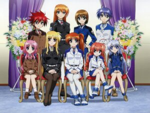 Rating: Safe Score: 25 Tags: caro_ru_lushe erio_mondial fate_testarossa mahou_shoujo_lyrical_nanoha mahou_shoujo_lyrical_nanoha_strikers reinforce_zwei screening subaru_nakajima takamachi_nanoha teana_lanster uniform vita yagami_hayate User: cosmic+T5