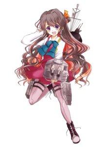 Rating: Safe Score: 12 Tags: hokuna_rin kantai_collection naganami_(kancolle) pantyhose seifuku weapon User: Injection