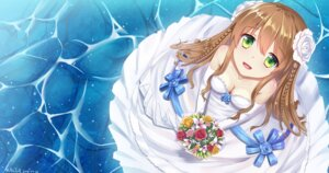 Rating: Safe Score: 28 Tags: cleavage dress kaclr kanbe_kotori rewrite wedding_dress User: Mr_GT