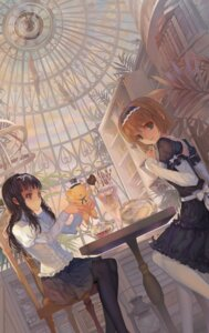 Rating: Safe Score: 38 Tags: card_captor_sakura daidouji_tomoyo dress gothic_lolita kerberos kinomoto_sakura lolita_fashion paku pantyhose User: Mr_GT
