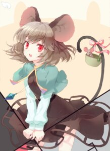 Rating: Safe Score: 55 Tags: animal_ears cuteg dress nazrin tail touhou User: yong