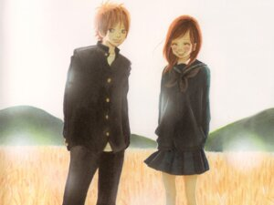Rating: Safe Score: 5 Tags: bokura_ga_ita motoharu_yano nanami_takahashi screening wallpaper yuuki_obata User: charunetra