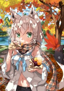 Rating: Safe Score: 26 Tags: animal_ears hololive miyabi_(miyabeeya) shirakami_fubuki tail User: Mr_GT