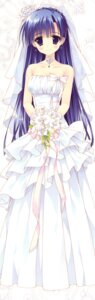 Rating: Safe Score: 111 Tags: dress feng hoshizora_e_kakaru_hashi koumoto_madoka ryohka wedding_dress User: 神な風なぎ