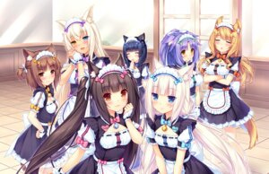 Rating: Safe Score: 123 Tags: animal_ears azuki_(neko_para) chocolat cinnamon_(neko_para) coconut heterochromia maid maple_(neko_para) minazuki_shigure neko_para nekomimi sayori vanilla User: Mr_GT