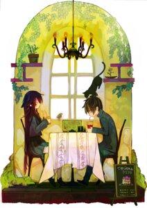 Rating: Safe Score: 27 Tags: hoshino_kazuki neko otonashi_maria seifuku thighhighs ukai_saki utsuro_no_hako_to_zero_no_maria User: hobbito