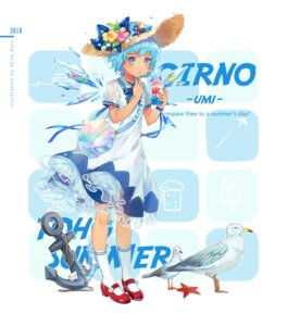Rating: Safe Score: 26 Tags: cirno dress ekita_gen heels see_through touhou wings User: RyuZU