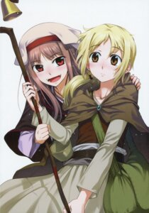 Rating: Safe Score: 8 Tags: holo koume_keito nora_arendt possible_duplicate spice_and_wolf User: kiyoe