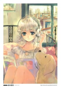 Rating: Safe Score: 15 Tags: headphones kuramoto_kaya User: Aurelia