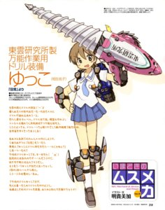 Rating: Safe Score: 17 Tags: aioi_yuko akitaka_mika mecha_musume nichijou User: Radioactive
