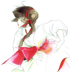 Rating: Safe Score: 3 Tags: kakinouchi_narumi miyu vampire_princess_miyu watercolor User: Radioactive