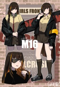 Rating: Safe Score: 10 Tags: dress_shirt garin girls_frontline headphones m-16_(girls_frontline) m16a1_(girls_frontline) thighhighs User: Dreista