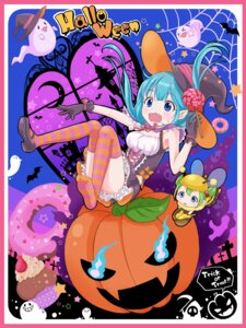 Rating: Safe Score: 16 Tags: dress halloween heels thighhighs witch yuki_(yukillust) User: animeprincess