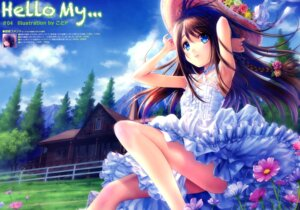 Rating: Questionable Score: 34 Tags: dress goto-p summer_dress User: 100497