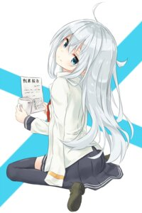Rating: Safe Score: 81 Tags: azure0608 hibiki_(kancolle) kantai_collection seifuku thighhighs User: Aneroph