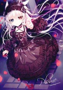 Rating: Questionable Score: 32 Tags: animal_ears dress gothic_lolita heterochromia lolita_fashion tsukikage_nemu User: kiyoe