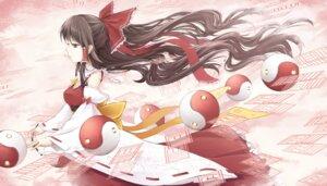 Rating: Safe Score: 30 Tags: cloudy.r hakurei_reimu touhou User: Radioactive