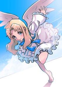 Rating: Safe Score: 8 Tags: dress firo kgo_(pixiv_18264535) skirt_lift tate_no_yuusha_no_nariagari wings User: charunetra