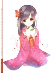 Rating: Safe Score: 42 Tags: dmyo kimono snow_ring User: fireattack