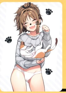 Rating: Questionable Score: 47 Tags: animal_ears cameltoe giuniu giuniuya nekomimi pantsu shirt_lift sweater User: Radioactive