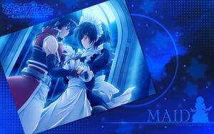 Rating: Safe Score: 9 Tags: escu:de maid maid_(otome_renshin_prister) mitsuki_mantarou nakajima_takashi otome_renshin_prister wallpaper User: Drich007