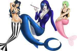 Rating: Safe Score: 10 Tags: bikini_top camie cleavage ishilly mermaid one_piece sharley toten User: Radioactive