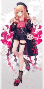 Rating: Questionable Score: 14 Tags: abandon_ranka garter heels midare_toushirou touken_ranbu trap User: Dreista