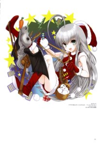 Rating: Safe Score: 7 Tags: christmas dress haiyore!_nyaruko-san koin nyaruko shantak-kun User: fireattack