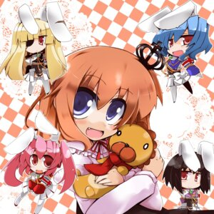 Rating: Safe Score: 3 Tags: animal_ears bunny_ears chibi sakutarou shirogane siesta_00 siesta_410 siesta_45 siesta_556 umineko_no_naku_koro_ni ushiromiya_maria User: xxdcruelifexx