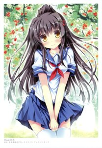 Rating: Safe Score: 58 Tags: k-books seifuku tateha thighhighs User: WtfCakes