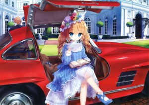 Rating: Safe Score: 80 Tags: dress heels lolita_fashion tsukigami_luna User: Twinsenzw