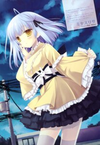 Rating: Safe Score: 45 Tags: irotoridori_no_sekai lolita_fashion miyasu_risa shikishima_kyou thighhighs wa_lolita User: Kalafina