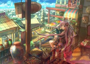 Rating: Safe Score: 64 Tags: fuzichoko kimono landscape User: charunetra