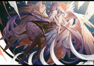 Rating: Questionable Score: 25 Tags: heels luo_tianyi pantyhose skirt_lift vocaloid wings User: Dreista