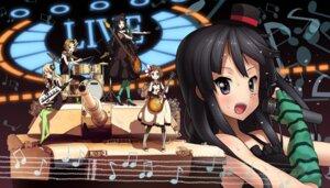 Rating: Safe Score: 29 Tags: akiyama_mio ddal guitar hirasawa_yui k-on! kotobuki_tsumugi tainaka_ritsu User: Radioactive