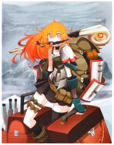 Rating: Safe Score: 13 Tags: armor dainigata_cador garter kaku-san-sei_million_arthur sword tansuke thighhighs User: Radioactive