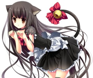 Rating: Safe Score: 42 Tags: animal_ears nekomimi tail thighhighs totsuka User: 椎名深夏