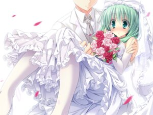 Rating: Safe Score: 38 Tags: dress kagiyama_hina touhou wallpaper wedding_dress yayoi_and_nagi User: fairyren