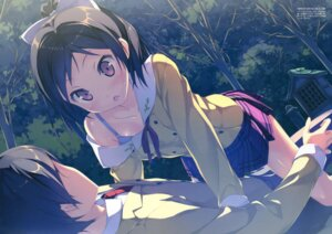 Rating: Safe Score: 79 Tags: bra hentai_ouji_to_warawanai_neko kantoku maimaki_mai seifuku yokodera_youto User: Twinsenzw
