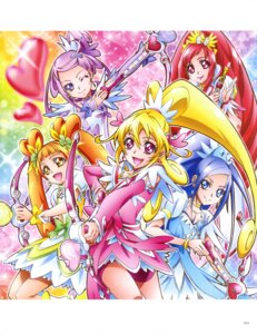 Rating: Questionable Score: 3 Tags: bike_shorts dokidoki!_precure dress pretty_cure weapon User: drop