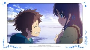 Rating: Safe Score: 12 Tags: hiradaira_chisaki nagi_no_asukara sakishima_hikari User: alice4