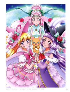 Rating: Safe Score: 5 Tags: asahina_mirai haa-chan_(precure) izayoi_riko mahou_girls_precure! mofurun_(precure) pretty_cure tagme witch User: drop